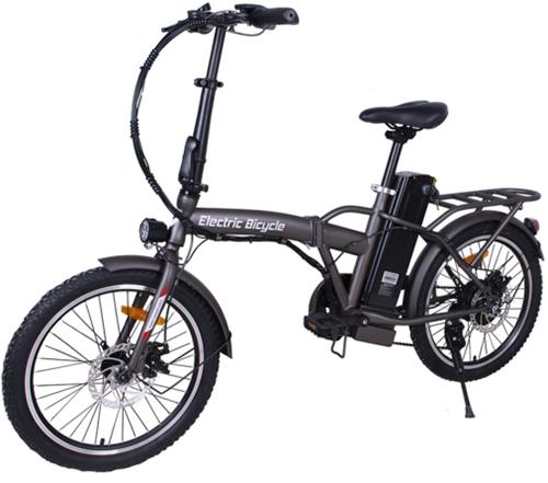 Электровелосипед HIPER Metallic Brown (HE-BF200)