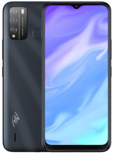 Смартфон ITEL Vision 1 Pro DS Dazzle Black (L6502)