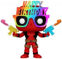 фигурка funko pop marvel deadpool 30th – construction worker deadpool bobble head 9 5 см Фигурка Funko POP! Bobble: Marvel: Deadpool 30th: Birthday Glasses Deadpool (54687)