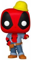 фигурка funko pop marvel deadpool 30th – construction worker deadpool bobble head 9 5 см Фигурка Funko POP! Bobble: Marvel: Deadpool 30th: Construction Worker (54688)