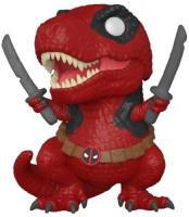 фигурка funko pop bobble marvel deadpool 30th larp deadpool 54690 Фигурка Funko POP! Bobble: Marvel: Deadpool 30th: Dinopool (54655)