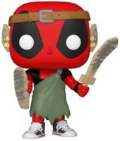 фигурка funko pop deadpool 30th deadpool in cake Фигурка Funko POP! Bobble: Marvel: Deadpool 30th: Larp Deadpool (54690)