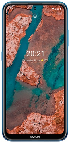 Смартфон Nokia X20 8+128GB Blue (TA-1341)