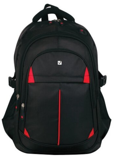 Рюкзак Brauberg Titanium, 45х28х18 см, красные вставки (226376)