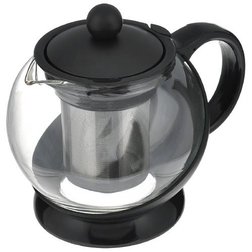 Чайник заварочный HANS-GRETCHEN 0,75 л, с фильтром Black (14YS-8061)