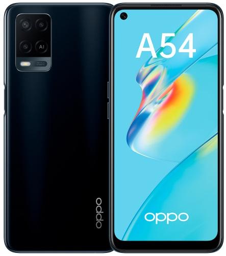 Смартфон OPPO A54 4+64GB Black (CPH2239)