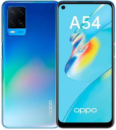 Смартфон OPPO A54 4+64GB Blue (CPH2239)