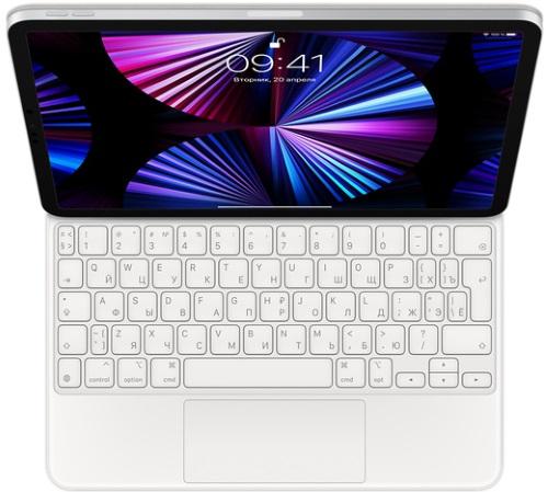 Клавиатура Apple Magic Keyboard для iPad Pro 11 (3-го поколения)/Air (4-го поколения) White (MJQJ3RS/A)