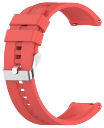 Ремешок Red Line универсальный, силиконовый, рельефный, 20 mm Red (УТ000025261)