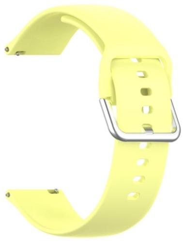 Ремешок Red Line универсальный, силиконовый, 22mm Yellow (УТ000025250)