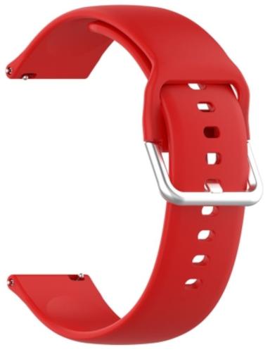 Ремешок Red Line универсальный, силиконовый, 22mm Red (УТ000025252)