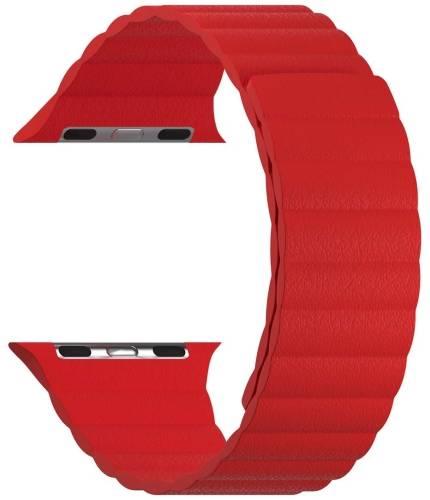 Ремешок LYAMBDA Pollux для Apple Watch 38/40mm Wine Red (DSP-24-40-WR)
