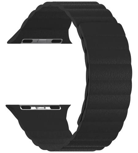 Ремешок LYAMBDA Pollux для Apple Watch 38/40mm Black (DSP-24-40-BK)