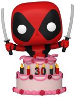 фигурка funko pop deadpool 30th deadpool in cake Фигурка Funko POP! Bobble: Marvel: Deadpool 30th: Deadpool in Cake (54654)
