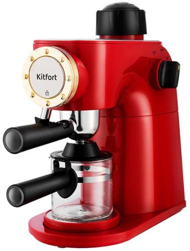 Кофеварка рожковая Kitfort КТ-756