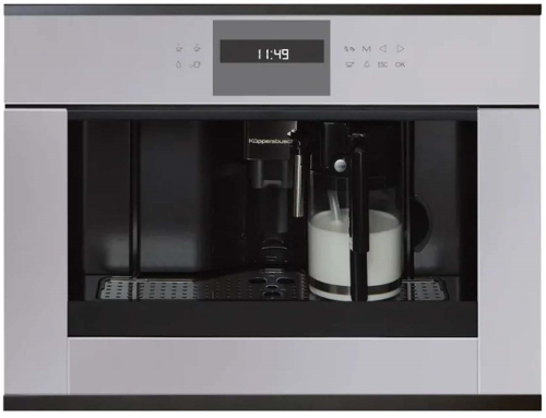 Встраиваемая кофемашина KUPPERSBUSCH CKV 6550.0 G2 Black Chrome