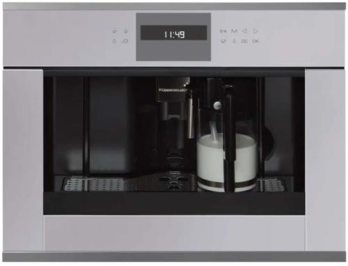 Встраиваемая кофемашина KUPPERSBUSCH CKV 6550.0 G3 Silver Chrome