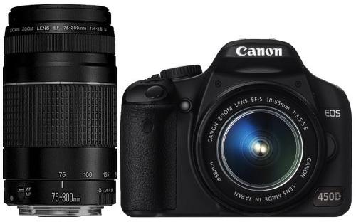 """Canon EOS 450D: новый зеркальный """"бюджетник"""" - Компьютерра-Онлайн"""