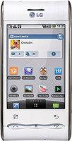 LG GT540 - смартфон на базе операционной системы Android.