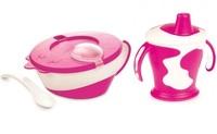 "CANPOL BABIES - 31/406-2 ""Коровка"" 3 предмета Pink"