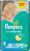 ���������� PAMPERS Active Baby Extra Large 15+ ��., 54 ��.