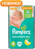 ���������� PAMPERS Active Baby Maxi 8-14 ��., 54 ��. (81446642)