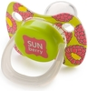 ����������� �����-�������� � ��������� HAPPY BABY Baby Pacifier ������������ �����, 12-24 ���., Lime