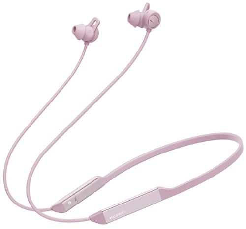 Беспроводные наушники с микрофоном Huawei Freelace Pro Sakura Pink (M0002)