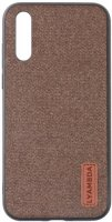 Чехол LYAMBDA Regul для Galaxy A50 Brown (LA06-RG-A50-BR)