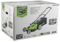 Газонокосилка электрическая Greenworks G40LM49DB (2500207)