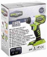 Гайковерт Greenworks G24IWK2 (3801207)