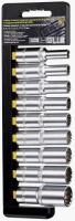 Набор головок торцевых Berger BG2038 Spline 1/2, 9 предметов