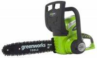 Пила цепная аккумуляторная Greenworks G40CS30