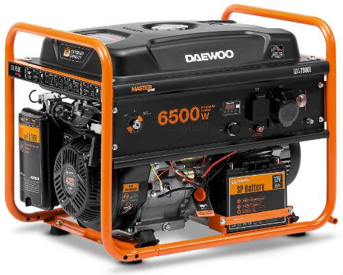 Инструменты Генератор бензиновый Daewoo GDA 7500E Высокое