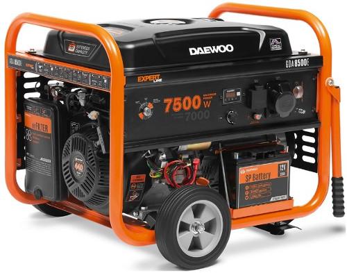Инструменты Генератор бензиновый Daewoo GDA 8500E Высокое