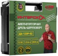 Аккумуляторная дрель-шуруповерт Интерскол ДА-12ЭР-02 ДМ (534.0.2.01)