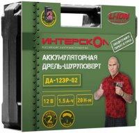 Аккумуляторная дрель-шуруповерт Интерскол ДА-12ЭР-02 ДМ (534.0.2.02)