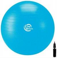 Мяч гимнастический Lite Weights 1867LW Blue, 75 см