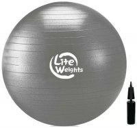 Мяч гимнастический Lite Weights 1868LW Silver, 85 см