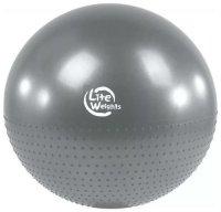 Мяч гимнастический Lite Weights BB010-26 Silver, 65 см