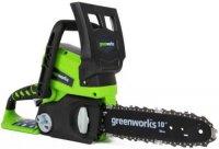 Пила цепная электрическая Greenworks 24V G24CS25 (2000007VA)