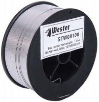Проволока сварочная Wester STW08100, 0,8 мм, 1кг (990-065)