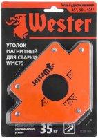 Уголок магнитный для сварки Wester WMC75, 3 угла, 35 кг (829-004)