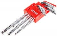 Набор ключей Hammer Flex, шестигранные, 9 шт (601-030)