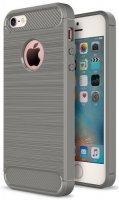 Чехол EVA для iPhone 5/5S/5C, серый/карбон (IP8A012G-5)