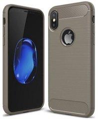 Чехол для смартфона Чехол EVA для iPhone X/Xs, серый/карбон (IP8A012G-X) Москва