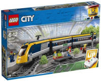 Конструктор Lego City Trains: Пассажирский поезд (60197)