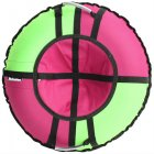 Тюбинг Hubster Хайп, 90 см, розовый-салатовый (во4671-1)