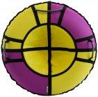 Тюбинг Hubster Хайп, 120 см, фиолетовый/желтый (во5551-4)