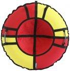 Тюбинг Hubster Хайп, 90 см, красный/желтый (во5572-1)